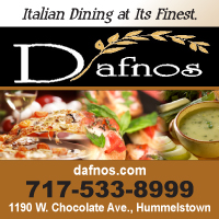 DAFNOS Italian Grille is an Italian restaurant in Hershey PA.