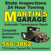 Martin's Garage Inc.