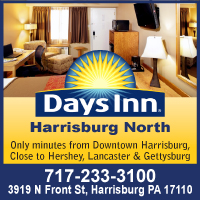 Pet Friendly Hotels in Hershey-Harrisburg, PA  Area-Days Inn Harrisburg North