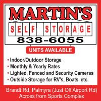 Martin's Self Storage Rentals