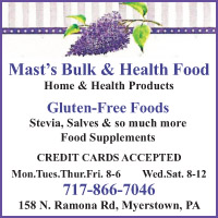 Mast's Bulk and Health Food