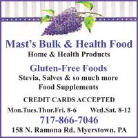 Mast's Bulk and Health Food