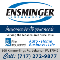 Insurance Agency in Lebanon, PA-Ensminger Insurance