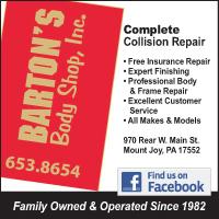 Barton's Body Shop Inc.