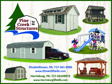 Amish Sheds, Pole Buildings, Swing Sets & More at Pine Creek Structures