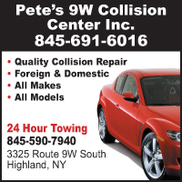 Pete's 9W Collision Center, Inc.