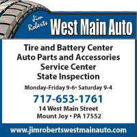 Jim Robert's West Main Auto of Mount Joy
