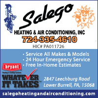 Salego Heating & Air Conditioning, Inc.