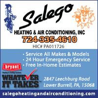 Salego Heating & Air Conditioning, Inc.