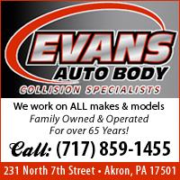 Evans Auto Body