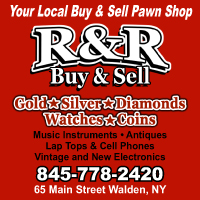 Sell gold in NY at R&R Buy & Sell pawn shop in Walden NY.