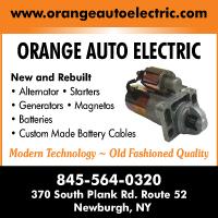 Orange Auto Electric