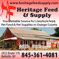 Feed & Pet Supplies-Heritage Feed & Supply in Bullville, NY