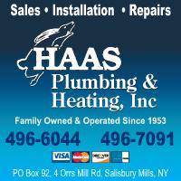 Haas Plumbing & Heating, Inc.