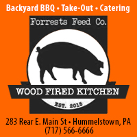 Forrests Feed Co backyard BBQ