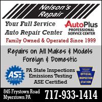 Nelson's Repair