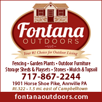 Sheds-Swing Sets-Fencing-Mulch-Fontana Outdoors LLC in Lebanon, PA Area