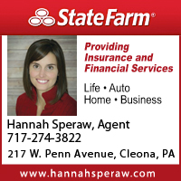 State Farm Insurance- Hannah Speraw
