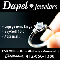 Dapel Jewelers is a jewelry store in Monroeville, PA.