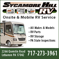 RV Service, Repair & Inspection in Lebanon, PA-Sycamore Hill RV