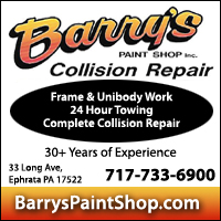 Barry's Paint Shop Inc.