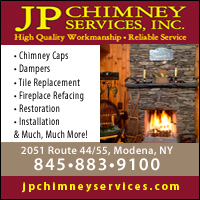 Chimney & Woodstoves Cleaning & Repair Modena, NY-JP Chimney Services, Inc.