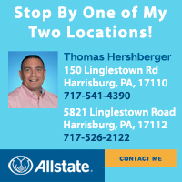 Auto-Home-Business Insurance Harrisburg PA-Allstate Insurance Agent Thomas Hershberger