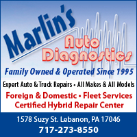 Auto & Truck Repair in Lebanon & Myerstown, PA-Marlin's Auto Diagnostics