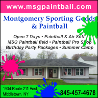 Paintball Course & Paintball Store Middletown NY-Montgomery Sporting Goods & Paintball