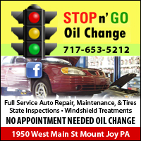 Stop-n-Go Oil Change