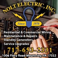 Electricians in Lancaster, PA Area-Nolt Electric in Manheim, PA