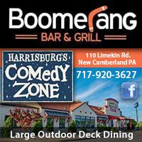 Boomerang Bar & Grill  / Harrisburg Comedy Zone