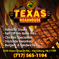 Texas Roadhouse is a Steakhouse Restaurant in Harrisburg, PA.